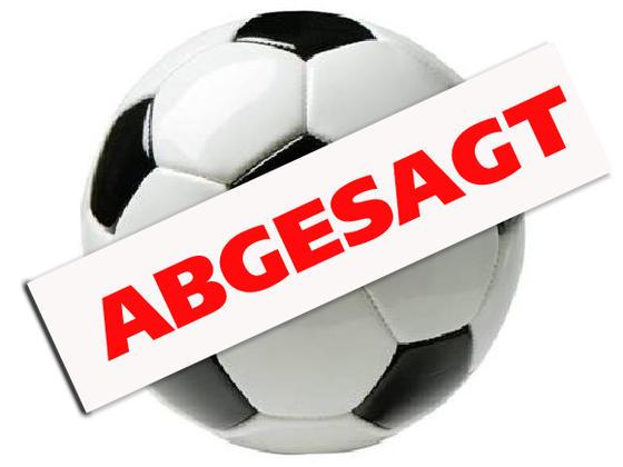 Abgesagt-Fussball
